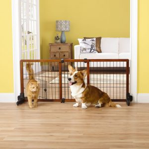 Top Paw Adjustable Stand Alone Pet Gate
