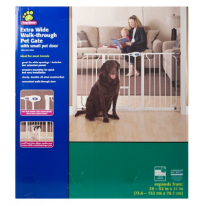 Top Paw Extra Wide Pet Gate