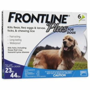 Frontline Plus Blue for Dogs