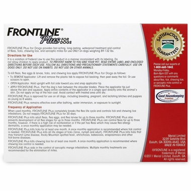 FRONTLINE Plus Red for Dogs
