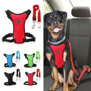 Safety Vehicle Car Harness With Adjustable Straps Dog
