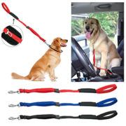 Dog leash Car seat belt